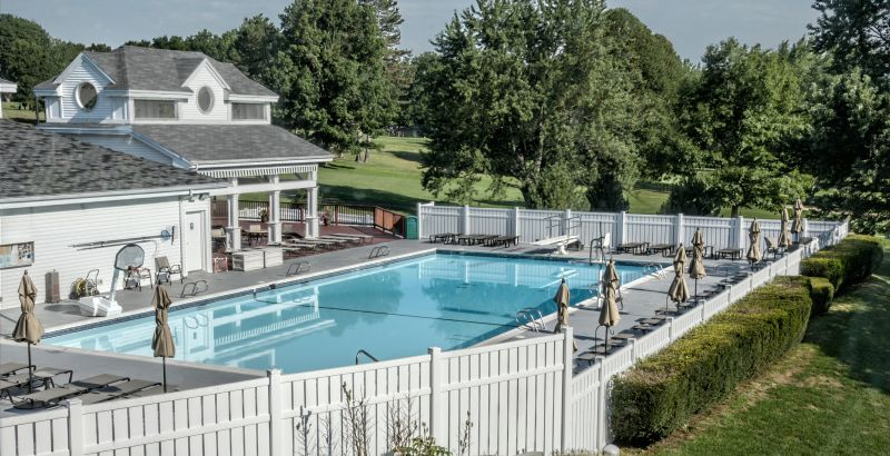 Swimming Locust Hill Country Club
